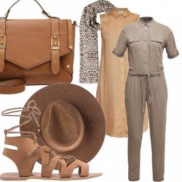 Outfit Safari vibe