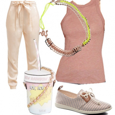 Outfit Ice cream style