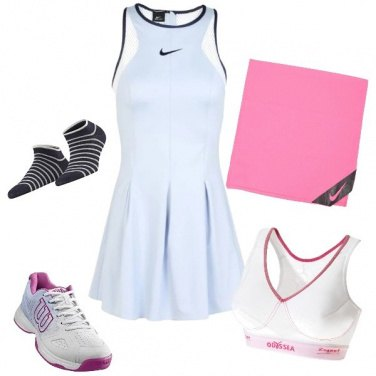Outfit Tennis I love you