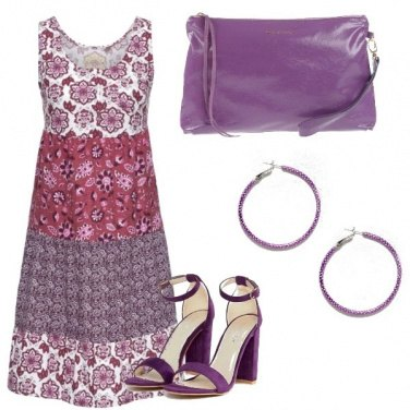 Outfit Violaceo