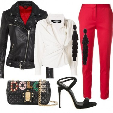 Outfit Red rock
