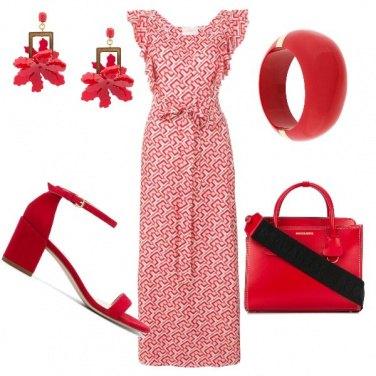 Outfit Variazioni di rosso