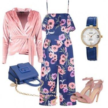 Outfit Romantiche rose