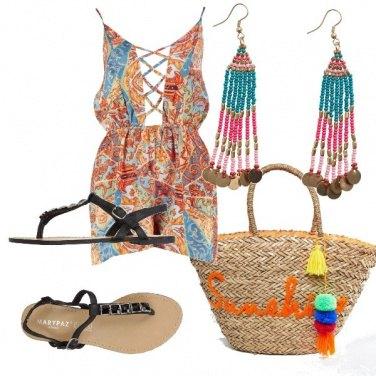 Outfit Colorata dopo il mare