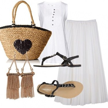 Outfit Bianco estate