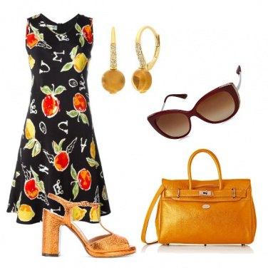 Outfit Arancio e limone