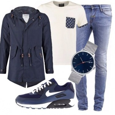 Outfit Blu syle
