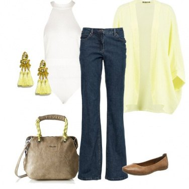 Outfit Chic inconsapevole