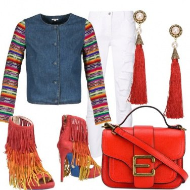 Outfit Stravaganza in rosso