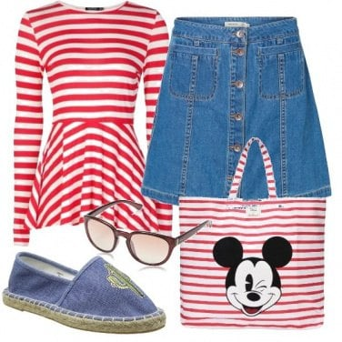 Outfit Topolino