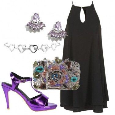 Outfit Sandalo viola