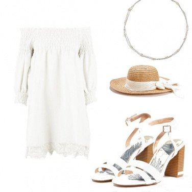 Outfit Solo in bianco