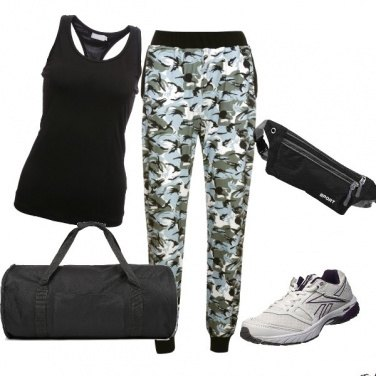 Outfit Sport in Black