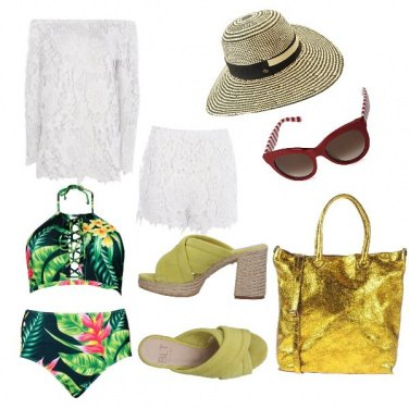 Outfit Bellissima in spiaggia