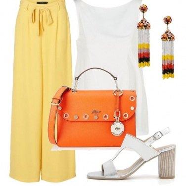 Outfit Borsa arancio