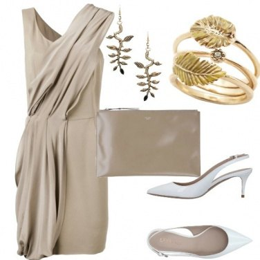 Outfit Nozze taupe