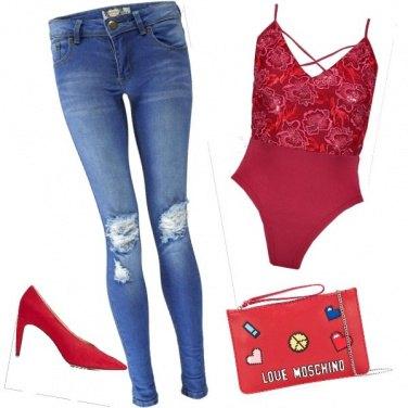 Outfit Semplice e sensuale