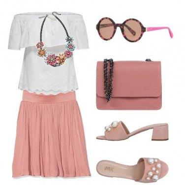 Outfit Primavera in rosa
