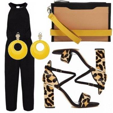 Outfit Giallo grintoso