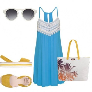 Outfit A spasso con colore