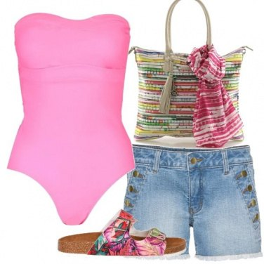 Outfit Mare rosa