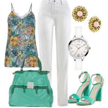 Outfit Borsa capiente