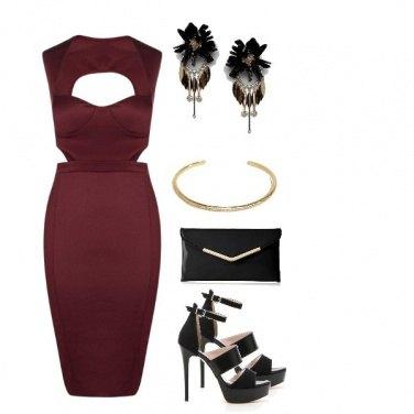 Outfit Vestido de noite