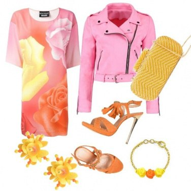 Outfit Colore per osare