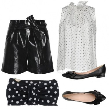 Outfit Petite a pois