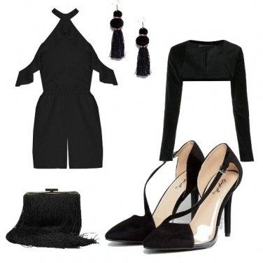 Outfit Il nero è modesto e arrogante...