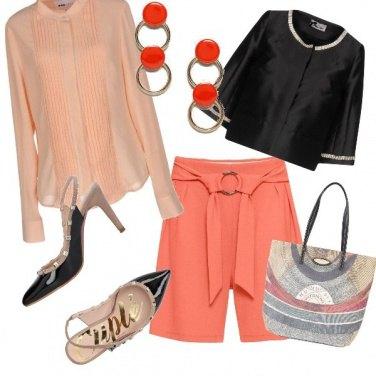 Outfit Romantica pesca