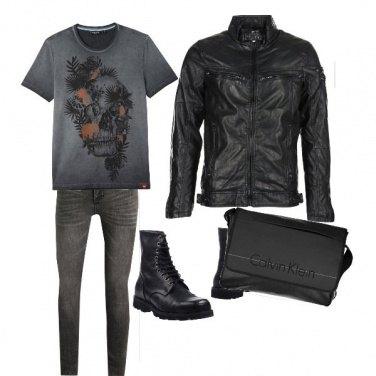 Outfit Rock da ufficio
