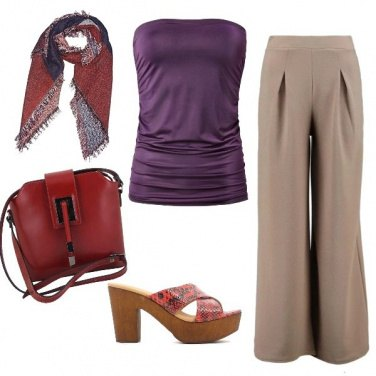 Outfit Crazy violet