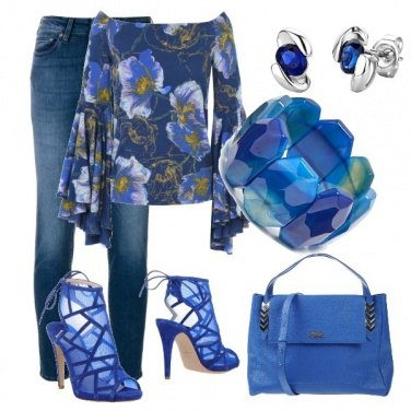 Outfit Adorabile blu