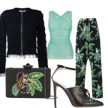Outfit Jungle noir