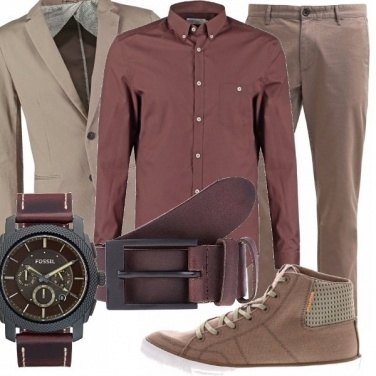 Outfit Dark and light brown