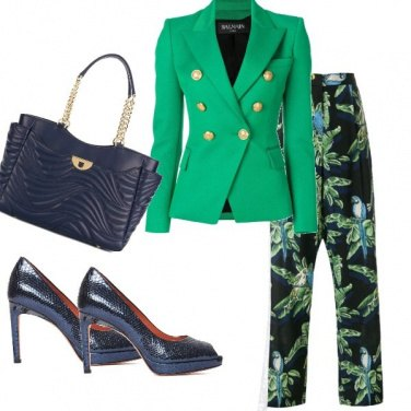 Outfit Blue-green