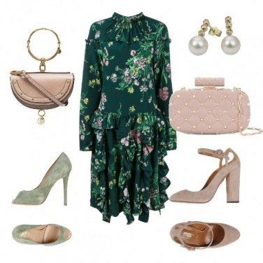 Outfit Wedding Flower 1