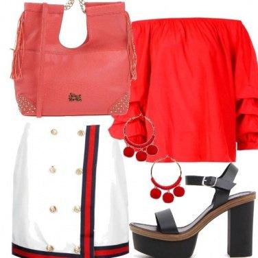 Outfit Gonna a portafoglio