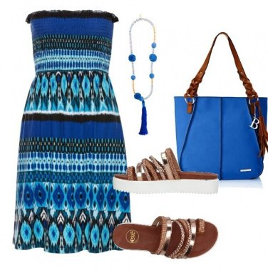 Outfit Blu al mare