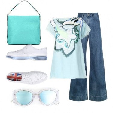 Outfit In jeans con stile