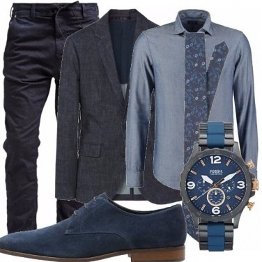 Outfit Casual tres chic