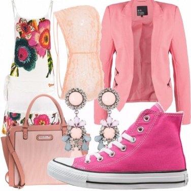 Outfit romantica moderna