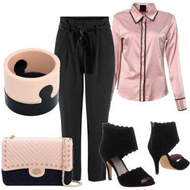 Fashion Sandali Scarpe da donna leggeri 7668 NERO 38
