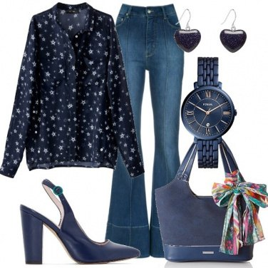 Outfit Total blue