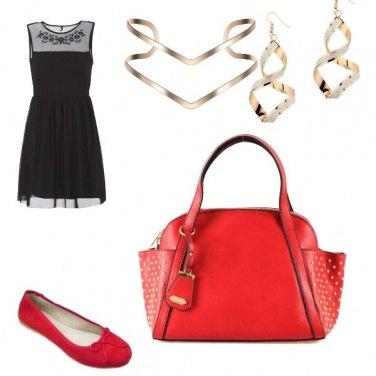 Outfit Occhio alla borsa