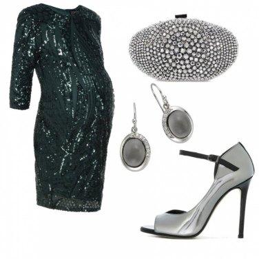 Outfit Elegantissima in gravidanza