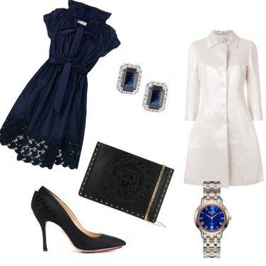 Outfit Tre note di blu