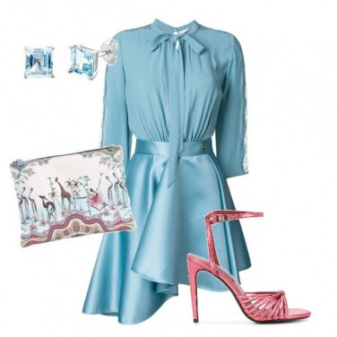 Outfit Rose blue