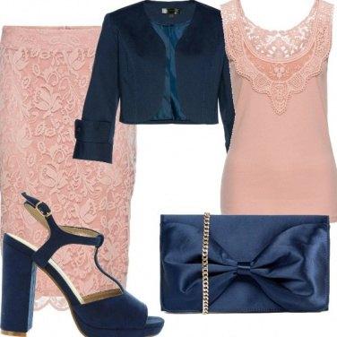 Outfit Cipria: dolce cerimonia